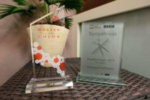 Auszeichnung master of color und Sympathicus für Haarwerk Bairhuber - Friseur in Micheldorf