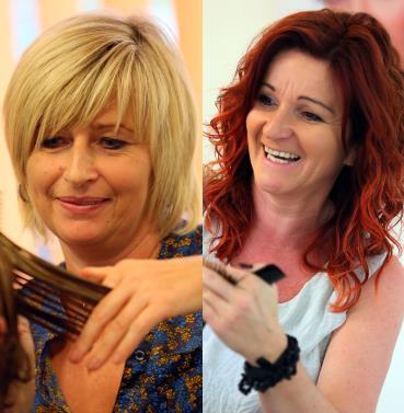 Lucia und Silvia im Haarwerk Bairhuber - Friseur in Micheldorf
