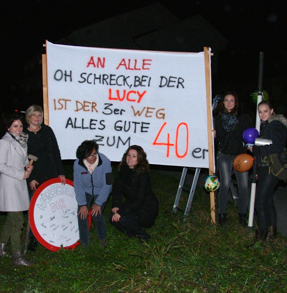 Topstylistin Lucy feiert Geburtstag heute